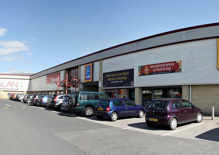 North Valley Retail Park Colne Barnfield Construction Quality Construction Since 1976