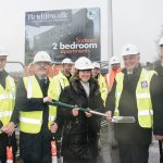 The first HCA backed Starter Homes Scheme in the UK gets underway in Burnley