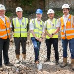 BARNFIELD BREAKS GROUND AT ALDERBANK