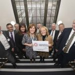 VIPS enjoy exploring Lancashire Adult Learning's new home
