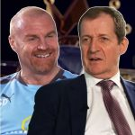 Alistair Campbell meets Sean Dyche at The Barnfield Training Centre